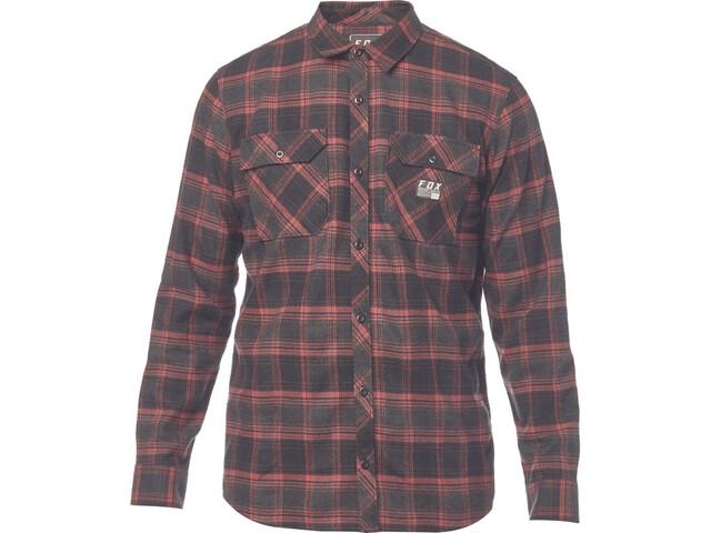Fox Traildust Flannel Shirt Men cardinal online kaufen   fahrrad.de a35c98b8a1